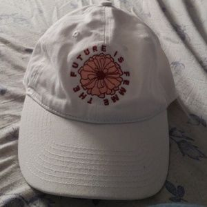 """The Future is Femme"" pacsun hat (white)"